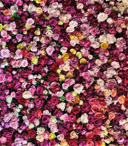 Romantik Güller Duvar Zemin Stüdyo Sahne Renkli Çiçekler Düğün Fotoğrafçılığı Arka Planında Fundos Para Estúdio De Fotografia