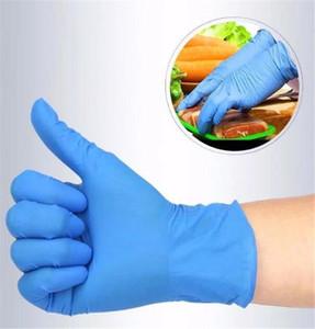50 пар одноразовые черный белый прозрачный нитрил латекс перчатки ПВХ прозрачный порошок латекс бесплатные перчатки для экзамена механик красоты многоцелевой