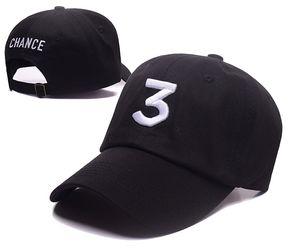 Черный хаки популярный шанс рэппер 3 Папа шляпа письмо Вышивка бейсболка хип-хоп уличная лягушка Snapback папа шляпа кости