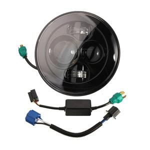 1 PCS haute qualité 48W 4800LM 7inch moto led lumière harleys daymaker LED phare pour camion Jeeps