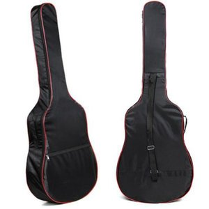 Wholesale- 2016 High quality 41&38 Inch Classic Acoustic Guitar Carry Bag 5mm unisex Shoulder Straps Gitar bags bass bags