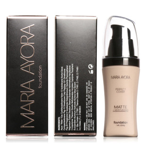 MARIA AYORA Base Visage Liquide Fondation BB Crème Concealer Eclaircir La Peau Blanchissant Hydratant Maquillage Beauté 30 ml