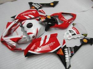 Kit carene personalizzabili senza stampaggio ad iniezione per Yamaha YZF R1 07 08 set carene nere bianche rosse YZFR1 2007 2008 OT15