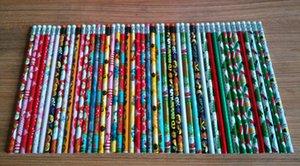 Alunos de lápis por atacado direto da fábrica para escrever com um lápis de desenhos de Natal manto calor shrinkable film pencil
