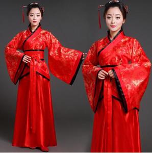Tang costume femme fée jeune fille dynastie han dynastie han hanfu danse classique princesse concubine