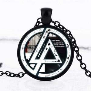 Sıcak Satmak Fanlar Linkin park Logo Kolye Cam kolye Lincoln Parkı Takı Kolye Dome Kolye Erkekler Ve Çocuk Parti Hediyeler Gerdanlık