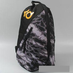 Grey camouflage backpack Kevin Durant daypack KD brand schoolbag Basketball rucksack Sport school bag Outdoor day pack