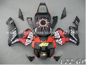 Abs fairing sets for Honda CBR600 RR 2003-2004 CBR600RR 03 04 CBR600RR F5 2003 2004 F5 fairings+tank #v71q6 Black red