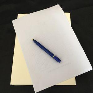Passa de negócios falsas caneta teste printinng papel algodão lençóis sentir nenhum amido sem ácidos tipos à prova d 'água