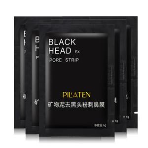 Pilaten Mineral Çamur Burun Siyah Nokta Gözenek Şerit Erkek Kadın Temizleme Temizleyici Temizleme Membranları Şeritler Sökücü Yüz Maskesi Kabukları