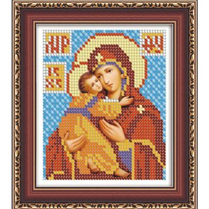 DIY 5D Diamond Embroidery Diamond Mosaic Russia Human Virgin and Child Round Rhinestones Diamond Painting Cross Stitch Kit