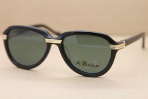 Hot Import Plank 1136298 óculos de sol de alta qualidade Homens ou Mulheres alta qualidade de moda de Nova Sunglasses C Decoração moldura de ouro Tamanho: 54-18-135mm
