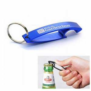 DUNFA Fashion Design Beer Opener Keyrings,Aluminum Bottle Opener Keychains,Anodized Assorted Colors Random