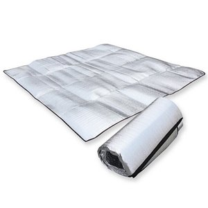 Matelas de camping pliable matelas de couchage pliable Mat Pad étanche feuille d'aluminium EVA en plein air là taille gros