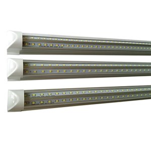 V-Shape 2ft 3ft 4ft 5ft 6ft 8ft led luci del tubo T8 integrato luci fluorescenti della stanza del dispositivo di raffreddamento a casa lampada a risparmio energetico a led
