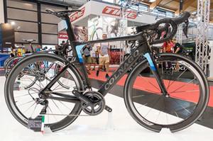 Satış 50mm karbon tekerlek için R7000 / R8000 Groupset ile Colnago Konsept Tam Karbon komple Yol Bisikleti Bisiklet