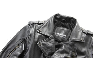 Hombre Harley ropa de la motocicleta solapa oblicua chaquetas con cremallera primera capa de cuero genuino de los hombres de cuero outwear abrigos envío gratis