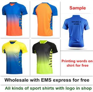 Бесплатная доставка новый Li Ning рубашка для бадминтона спортивная одежда