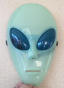 Nouveau Cosplay Lumineux Délicat Big Eyes Masque Alien Pour Festival Halloween Party Danse Masque Etc --- Loveful