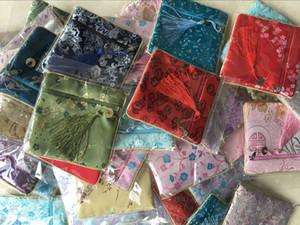 Seide kleine Handtasche Perlen Taschen im chinesischen Stil kleine Tasche Schmuck Taschen Münztaschen