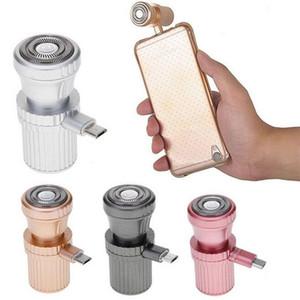 ميني USB الحلاقة الحلاقة السفر في الهواء الطلق المحمولة ميني الحلاقة ملحقات الهاتف الخليوي لفون / الروبوت sumsang المجرة