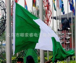 Нигерия Флаг Nation 3ft х 5ft Полиэстер Баннер Flying150 * 90см Пользовательский флаг Во всем мире во всем мире на открытом воздухе