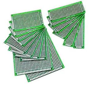 Double sided Prototype PCB Print Circuit Board Universal Breadboard 1.6mm 2.54mm FR-4 Tin Plated for DIY Test Multi-size