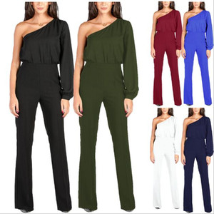 Women Wide Leg Elegant jumpsuits Black V-neck Jumps Embellish Cuffs Long Mesh Sleeves Overalls Sexy Night Club Elegant SlimBody suit