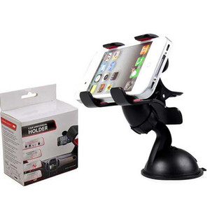 30 PCS Universal 360° in Car Windscreen Dashboard Holder Mount Stand For iPhone Samsung GPS PDA Mobile Phone Black