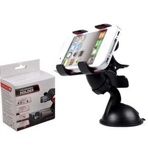30 pcs universal 360 ° no carro pára-brisas dashboard suporte de montagem suporte para iphone samsung gps pda mobile phone preto