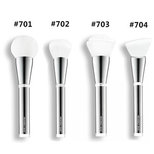 Nova Marca Escovas de TI dermocosméticos Heavenly # 701 # 702 # 703 # 704 mistura em pó fundação contorno compõem ferramentas kit escova.