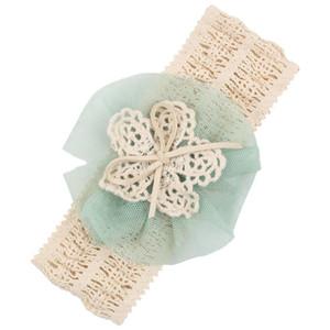 Neu entwerfen Baby Kiddo Stirnbänder Maschen-Blumen-Haarbänder Art- und Weisekind-Haar-Zusätze 2107 neues Art- und Weisestirnband 20pcs / lot