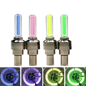 Firefly falou LED válvula de roda haste Cap pneu movimento Neon lâmpada de luz para moto bicicleta carro motocicleta