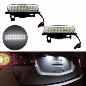 2 stücke Direct Fit Weiß 18 SMD Auto LED Kennzeichenbeleuchtung Lampe Für Nissan TEANA J31 J32 Maxima Cefiro