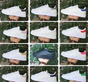 Высокое качество новый бренд Стэн обувь Мода Смит кроссовки повседневная кожа мужчины женщины спортивные кроссовки бег трусцой snea классические квартиры