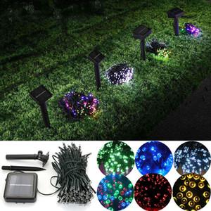 100 LED 200 LED Extérieur 8 Modes Alimenté Solaire Guirlande Lumineuse Jardin Fête De Noël Fête Lampe 10 M 22 M