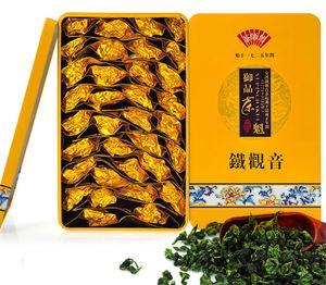 2020 جيدة 250G والصين حجية القافية نكهة الشاي الأخضر، الصينية انشى الشاي Tieguanyin، عضوي الطبيعية الصحة الشاي الصيني الاسود FREESHIPPING