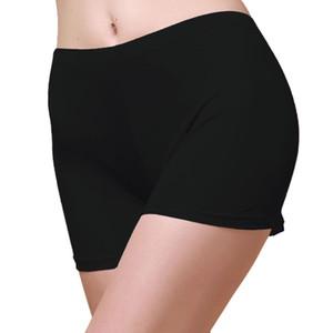2 pares 100% tejido de seda de punto Calzoncillos de mujer Ropa interior Pantalones cortos para niños Tamaño US S M L