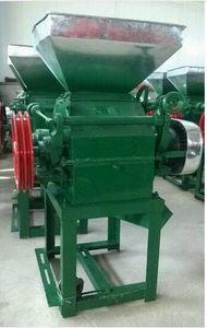 Neue Flachsmaschine für Weizen, Sojabohnen-Tabletten-Pressmaschine Crusher für Bohnen, Schleifer