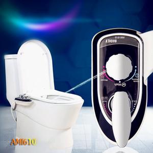 warmes Wasser Bidet waschen Gesäß, nicht-elektrische mechanische WC-Sitz Bidet, Bad Kalt-und Warmwasser-Bidet mit Selbstreinigungsdüse, AM1610