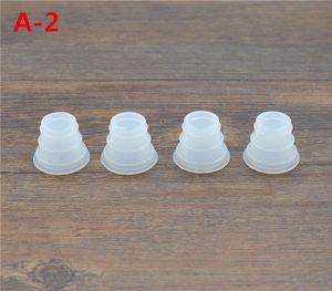 Toptan-20X Nargile Nargile Kase Ince Küçük Boyutu Grommet Conta Mühür Kafa Nargile Kauçuk Grommets