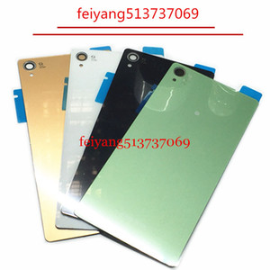 A quality Housing Battery Cover Case for Sony Xperia Z3 D6603 back glass Z3 D6603 Rear Battery Door Back Housing cover