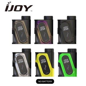 IJOY CAPO Squonker MOD alimentato da una singola cella da 20700 con un massimo di 100W Uscita Caratteristiche Fermo batteria superiore