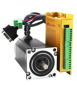 4.5n.m 스테퍼 모터 키트 세트 LC86H280 + LCDA86H nema34 하이 토크 용 드라이버 및 모터 제품 제조업체 가격
