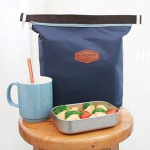 أكسفورد القماش الغداء الحقيبة أكياس متساوي الحرارة المحمولة أكياس الثلج لاتولى حزمة رقائق الألومنيوم حزمة الجليد بالجملة