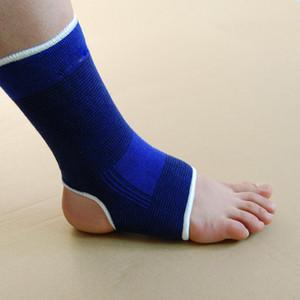 Großhandels-Großverkauf 5 * blaue elastische Neopren-Knöchel-Stützfuß-Schutz-Klammer-Sport-Socke Unisex