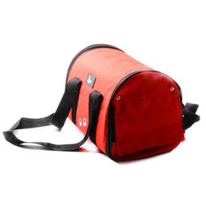 6 Style S / M Dimensioni esterne Borse Dog Pet Travel Corduroy colorato Cat Carrier Bag colorata borsa facile trasporta Pet Bag Pet Carrier