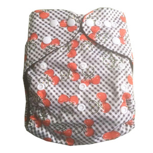 New Arrival Bamboo Charcoal Baby Reusable Cloth Pocket Diaper Covers All in One Size Nappy