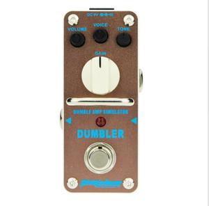 AROMA ADR-3 Amplificador Amplificador AMP Simulator Clássico Tubo de Distorção Pedal Efeito de Guitarra Reproduzir Amplificador de Dumble Frete Grátis alta qualidade