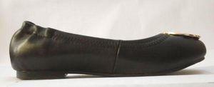 Venta caliente mocasines mocasines famosos diseñador de la marca de viajes de viajes pisos hebilla de metal ballet pisos mujeres de piel de oveja zapatos de cuero genuino Sz 35-41